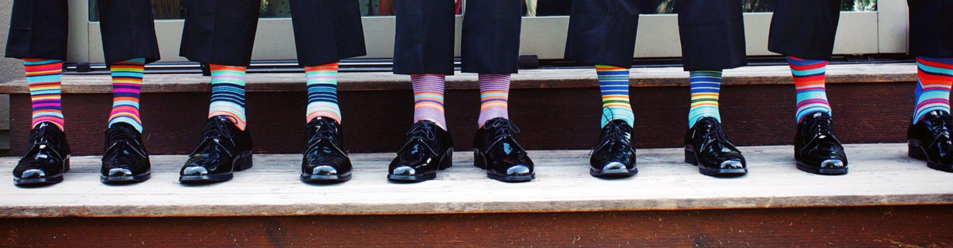 Tio tips - Tio färgglada fötter